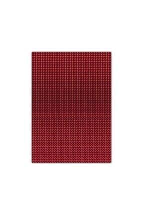 Bigpoint Metalik Renkli Karton 50x70cm Kırmızı 10'lu Poşet