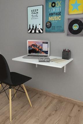 Bofigo 72 X 45 Cm Katlanır Masa Duvara Monte Masa Mutfak Masası Balkon Masası Çalışma Masası