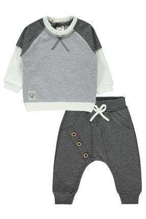 Civil Baby Erkek Bebek Gri Takım 6-18 Ay