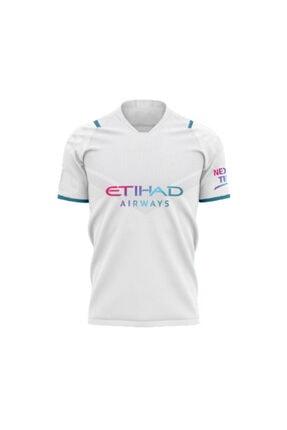 Pasxaspor Manchester City Unisex Beyaz 2021/2022 Forması