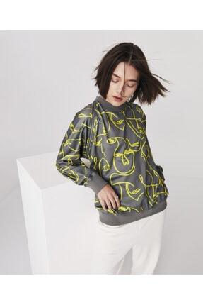 Twist Fermuar Detaylı Sweatshirt