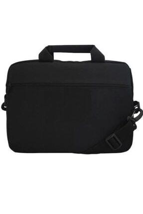 BTS Teknoloji Siyah Laptop Taşıma Çantası Askılıklı Standart 15.6