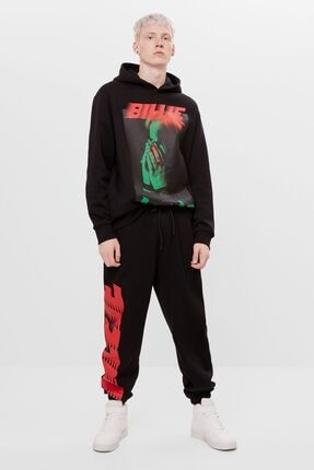 Bershka Billie Eilish Jogging Fit Pantolon