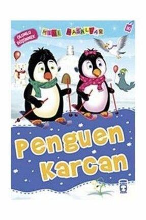 Timaş Yayınları Mini Masallar-30 Penguen Karcan ( Olumlu Düşünmek ) | Nalan Aktaş Sönmez | Timaş Yayınları