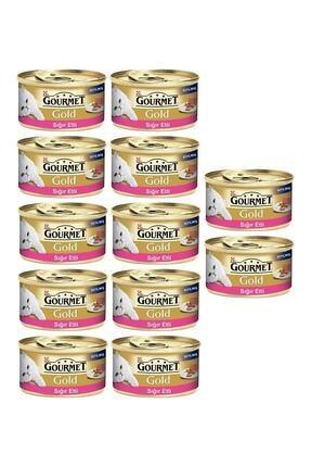 Purina Gourmet Gold Sığır Etli Kıyılmış Kedi Konservesi 85 Gr X 12 Lı Paket
