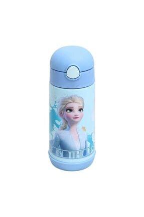 Frozen Karlar Ülkesi Elsa Çelik Matara 44045