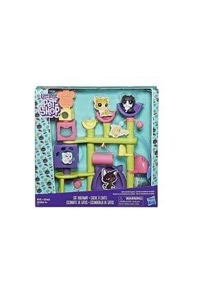 Littlest Pet Shop Figür Kedi Eğlence Parkı