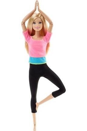 Barbie Sarışın Sonsuz Hareket Bebeği