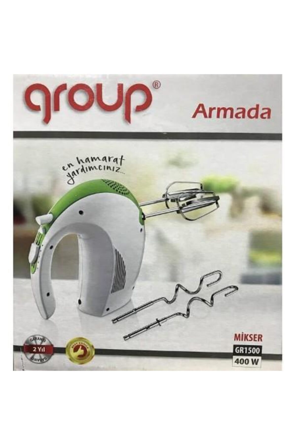 Group Gri Gr 1500 Armada 400 Watt Mikser 2