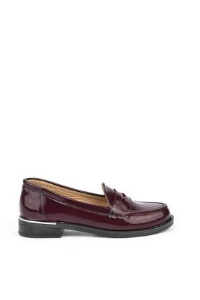 Ziya Kadın Bordo Klasik Ayakkabı