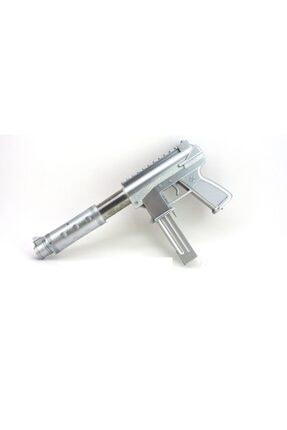 Oyuncakistan Unisex Çocuk Gri Boncuklu Pompalı Küçük Oyuncak Silah
