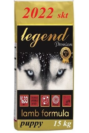 Legend Gold Düşük Tahıllı Kuzu Etli Büyük Irk Yavru Köpek Maması 15 kg