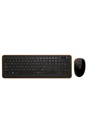 TURBOX Tr-k90 Black Wireless Multimedya Q Klavye + Mouse Set