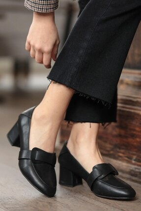 Mio Gusto Romy Siyah Topuklu Ayakkabı