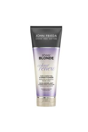 John Frieda Turunculaşma Karşıtı Mor Saç Kremi - Sheer Blonde Color Renew Conditioner 250ml
