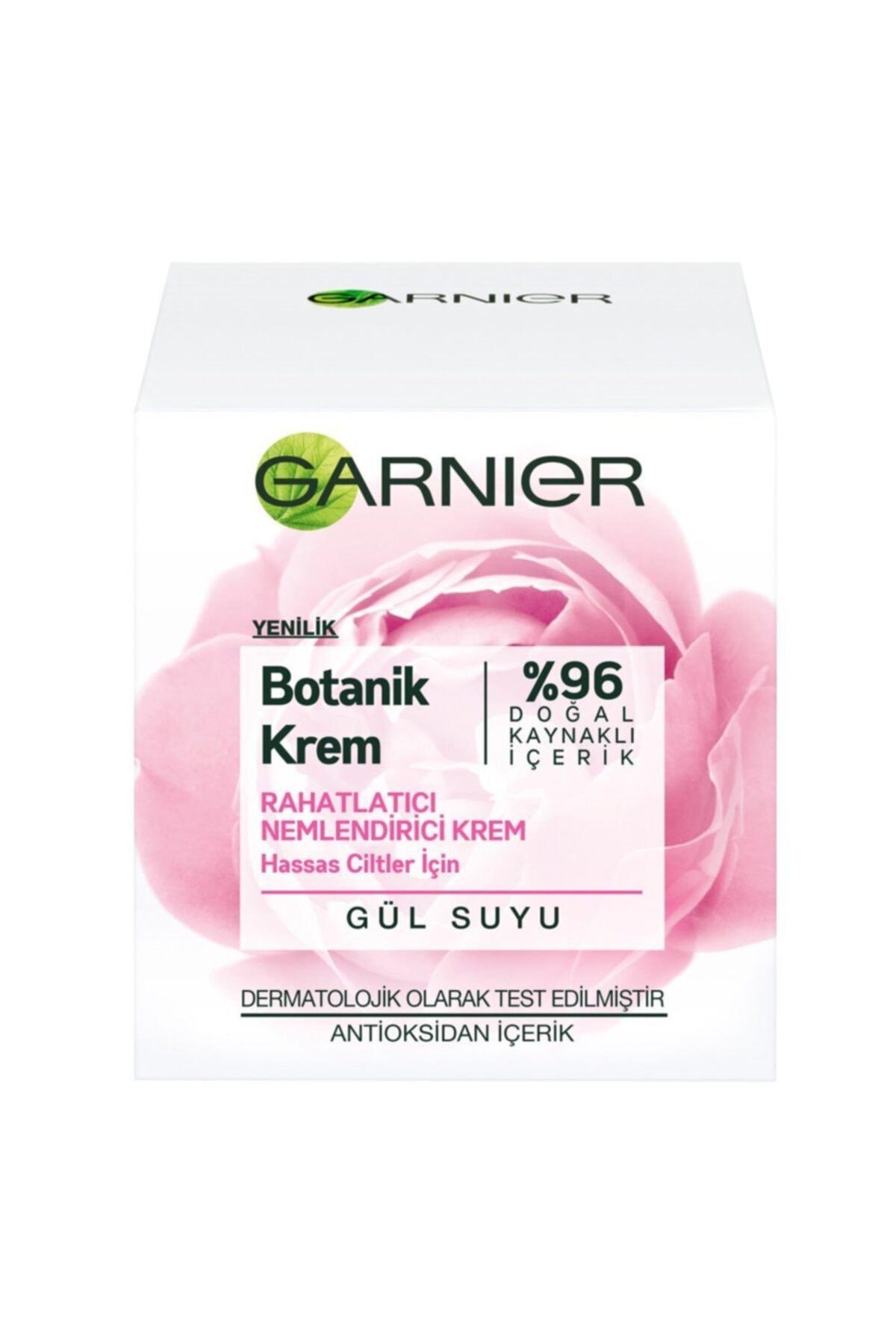 Garnier Gül Suyu Botanik Rahatlatıcı Nemlendirici Krem 50 ml 1