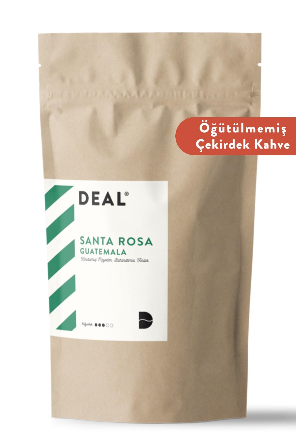 DEAL COFFEE Guatemala Santa Rosa Single Origin Taze Kavrulmuş Çekirdek Kahve 250 Gr Öğütülmemiş 1