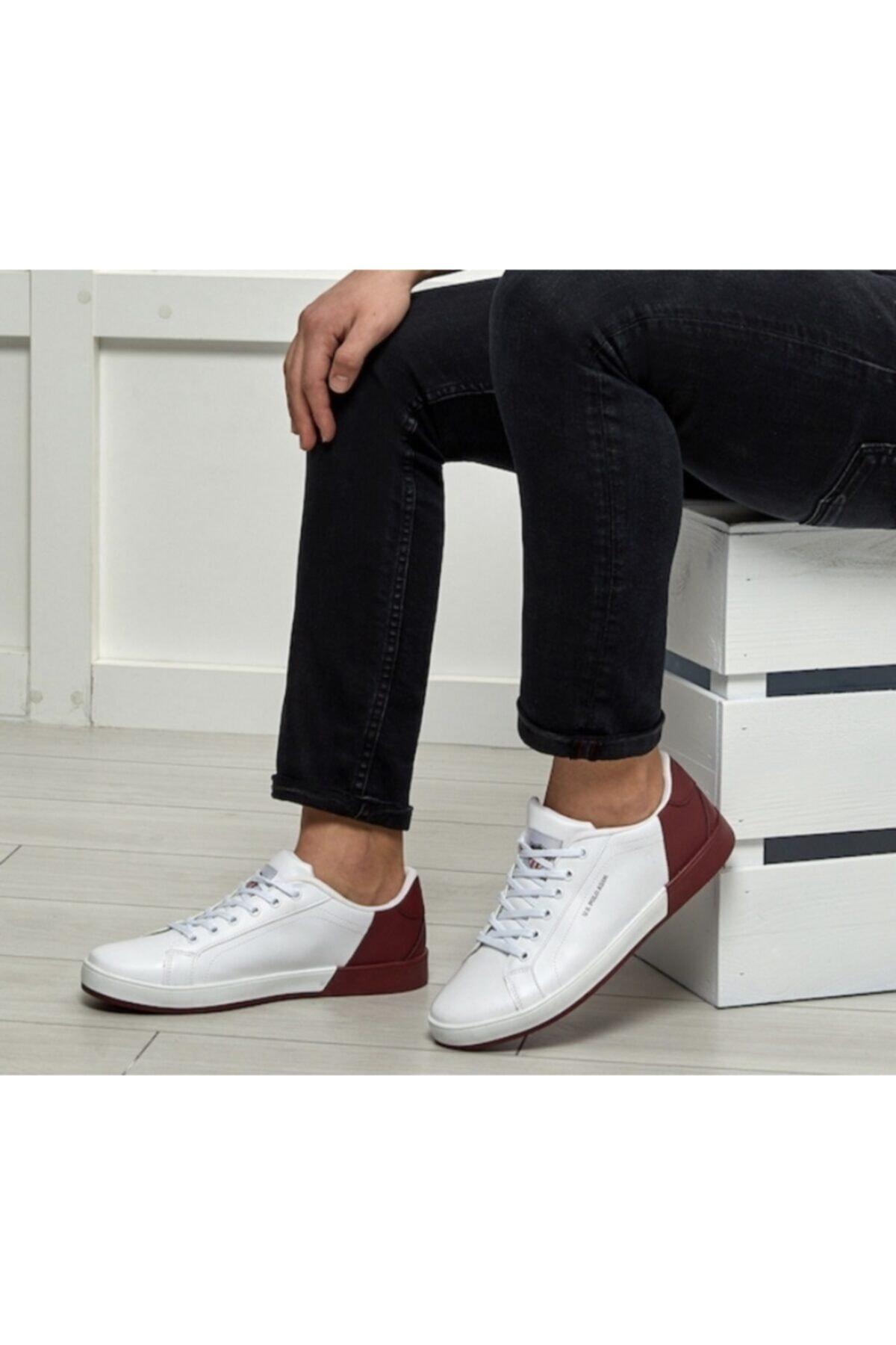 U.S. Polo Assn. Erkek Kırmızı Ayakkabı 2