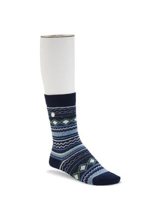Birkenstock Fashıon Ethno Çorap Navy Terlik