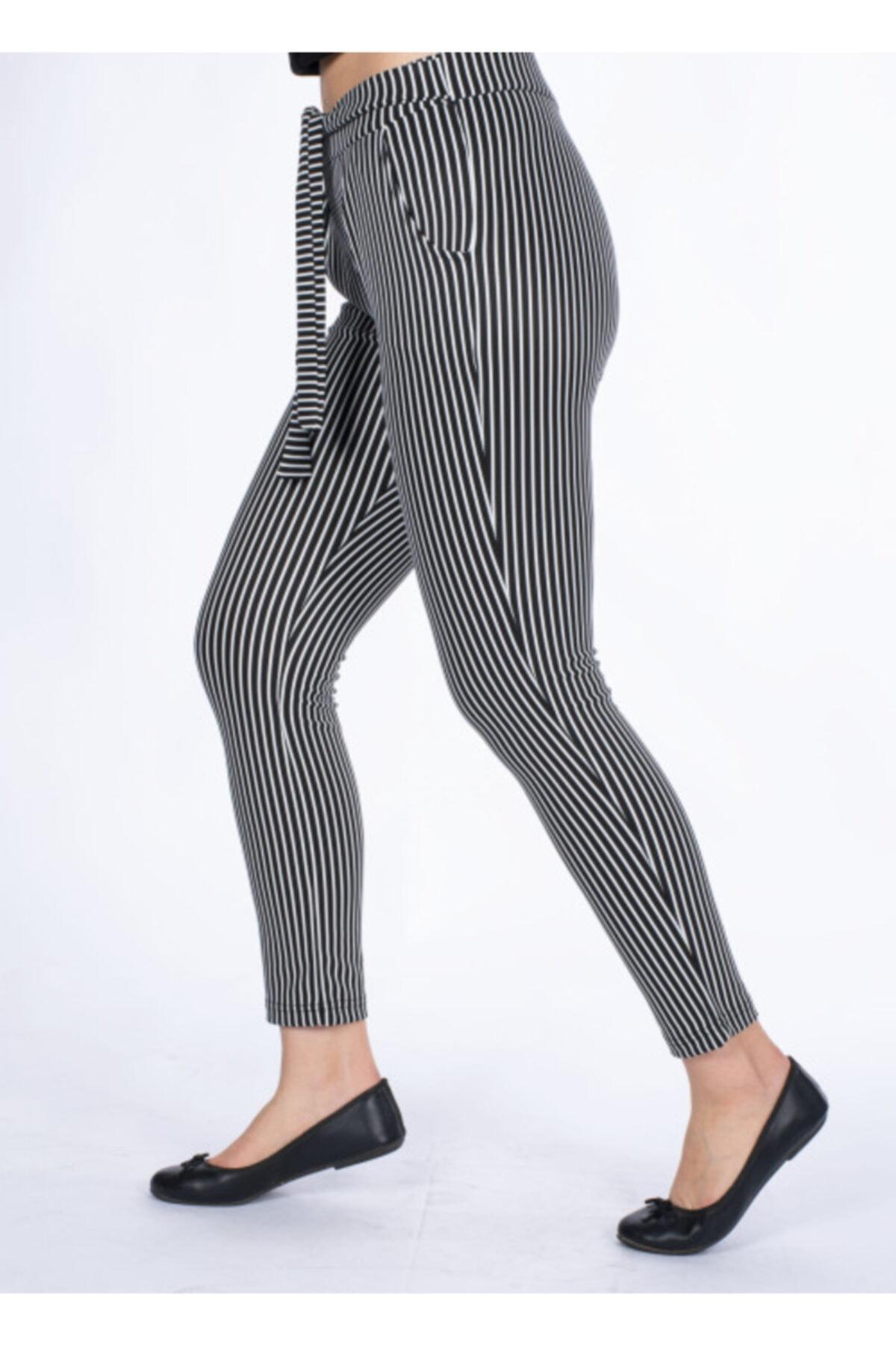 Vision Kadın Çizgili Pantolon 2