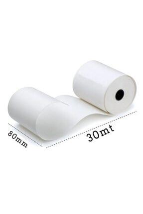 Umur 80x30 Termal Pos Ve Adisyon Rulosu 30 Metre 10 Adetlik Paket