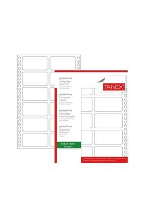 Tanex Sürekli Form Etiket 1250'li 35x97 Mm Tn 0017