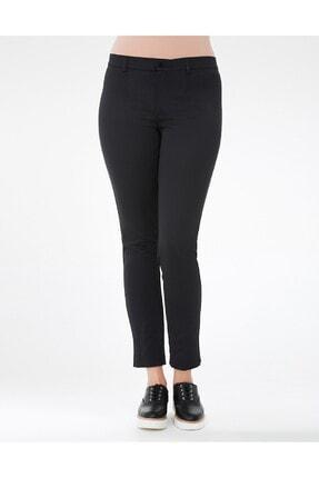 GEBE Kadın Siyah Buyuk Beden Pantolon