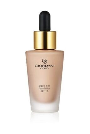 Oriflame Giordani Gold Silk Likit Fondöten Spf 12 - Light Ivory