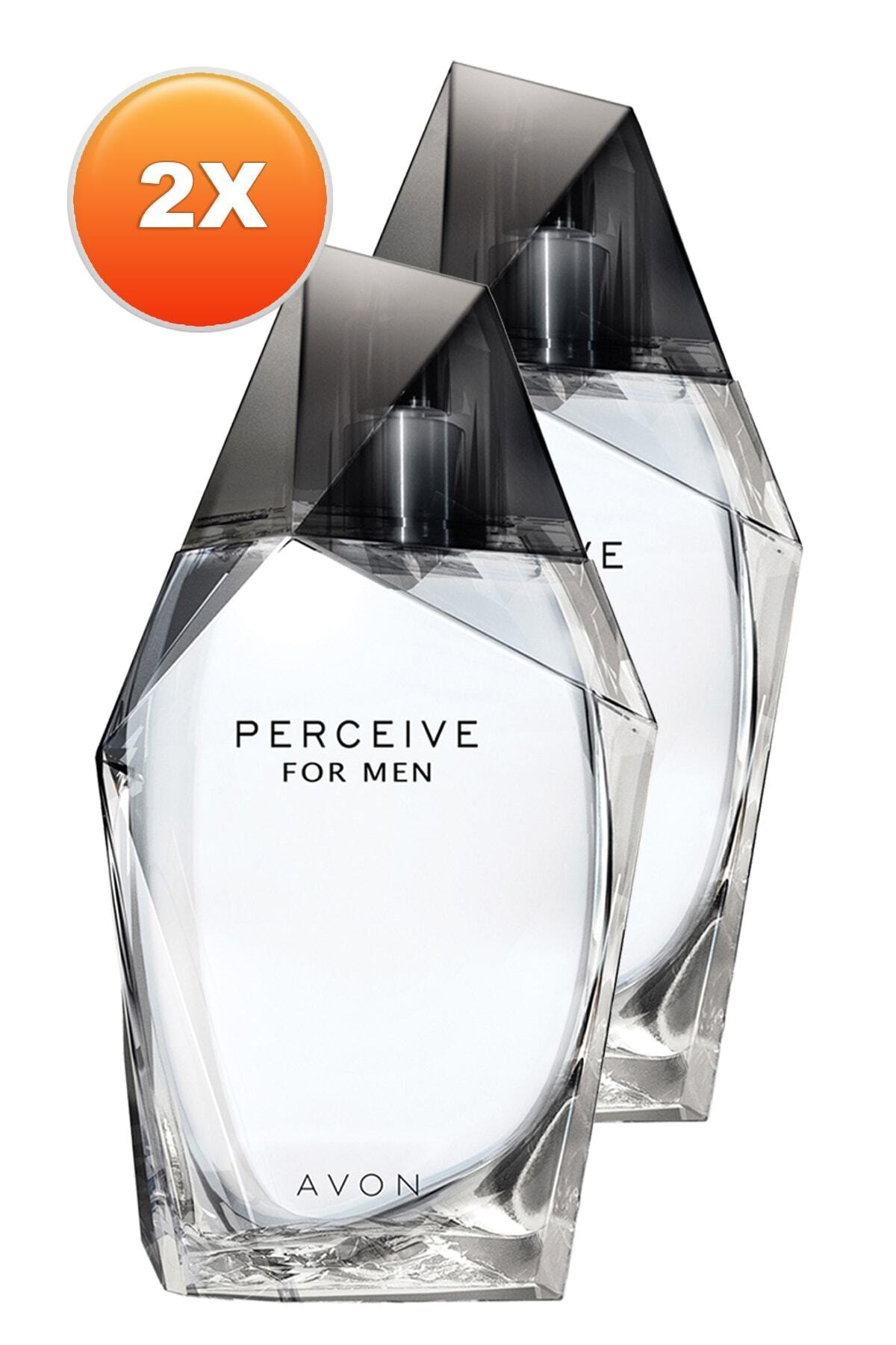 AVON Perceive Erkek Parfüm Edt 100 ml 2'li Set 5050000103855 1