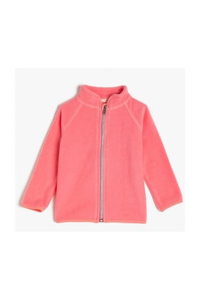 Koton Kids Pembe Kız Bebek Sweatshirt