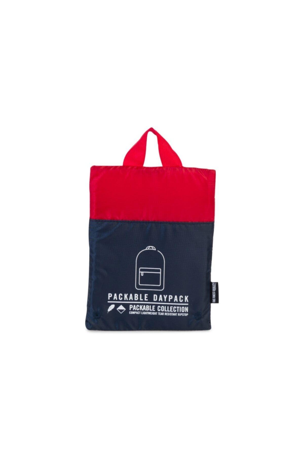 Herschel Supply Co. Herschel Katlanır Sırt Çantası Packable Daypack Navy/Red 2