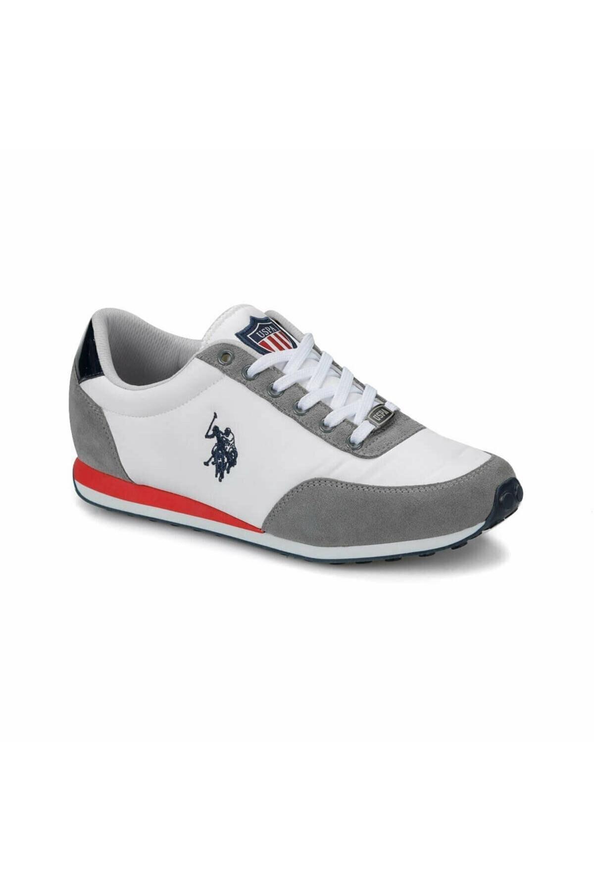U.S. Polo Assn. Pacific Beyaz Erkek Spor Ayakkabı 1