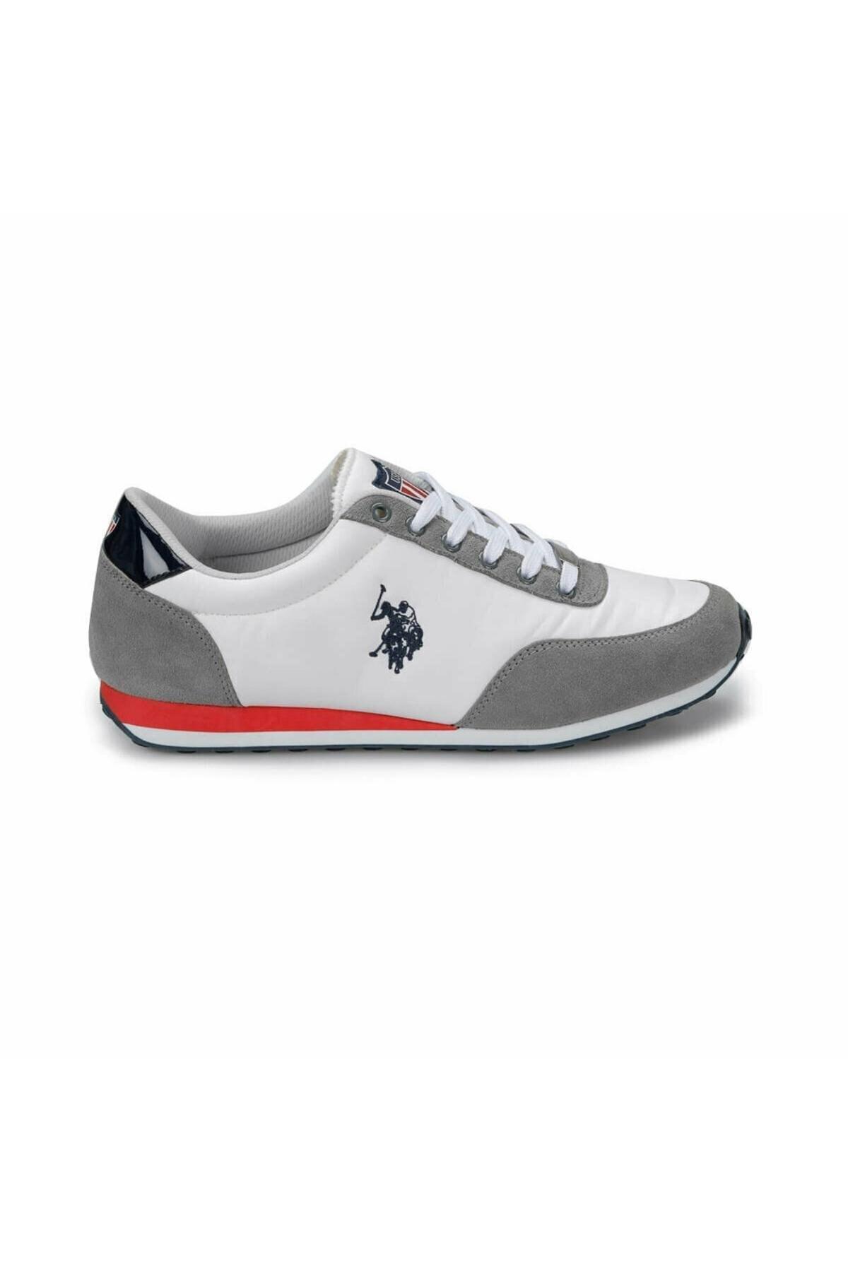 U.S. Polo Assn. Pacific Beyaz Erkek Spor Ayakkabı 2