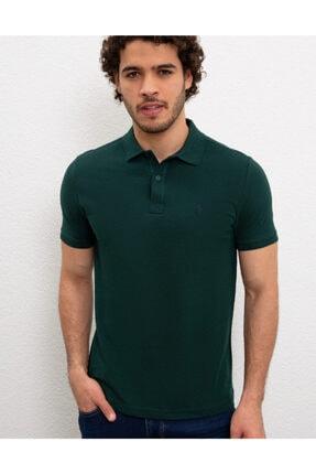 U.S. Polo Assn. Erkek Yeşil Polo Yaka T-shirt