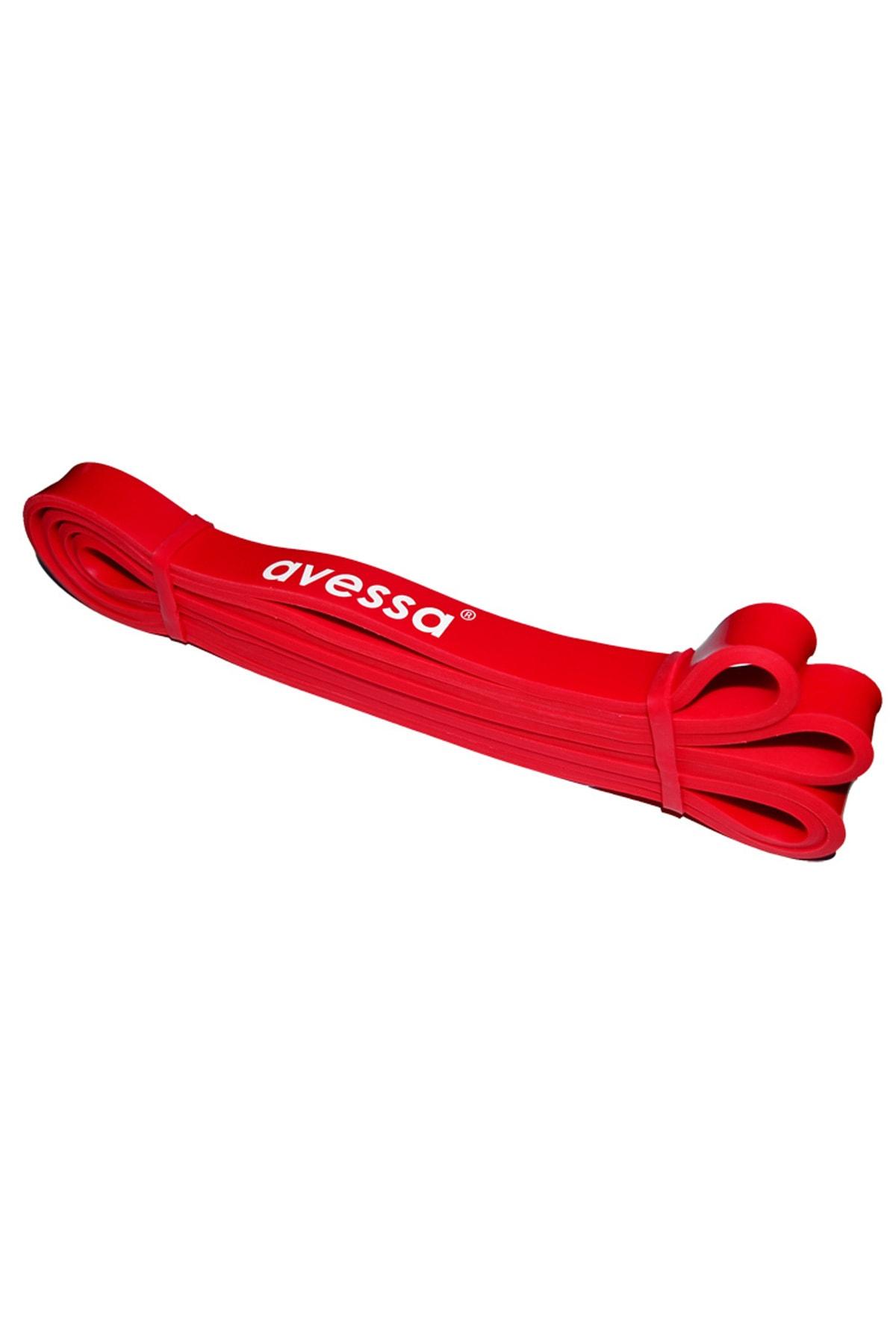 AVESSA Latex Güç Bandı Direnç Lastiği Kırmızı Lpb-21 1