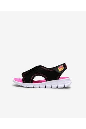 SKECHERS SYNERGY - AQUA BREEZE Küçük Kız Çocuk Siyah Sandalet 86786N BKHP
