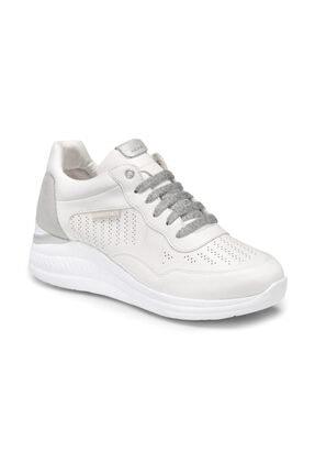 lumberjack Kadın Beyaz Bağcıklı Sneaker Ayakkabı