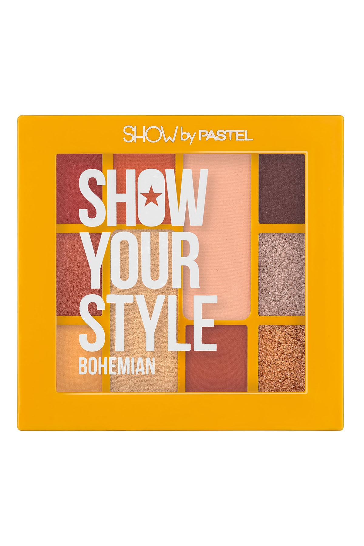 Pastel Show Your Style Eyeshadow Set Bohemian No 461 - Far Paleti 1