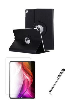 Esepetim Ipad Air 3 (3.nesil) 10.5 Inç Dönerli Siyah Tablet Kılıfı Seti