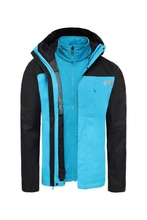 THE NORTH FACE Quest Triclimate Erkek Outdoor Mont Siyah/mavi