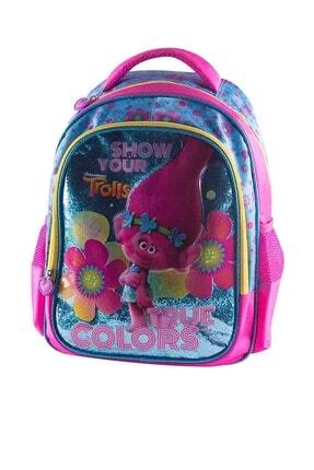 Trolls Mavi Kız Çocuk Okul Çantası 89069