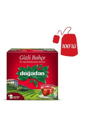 Doğadan Gizli Bahçe 100'lü Bardak Poşet Siyah Çay