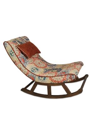 Asedia Teksas Miskin Ceviz-çiçekli Sallanan Sandalye