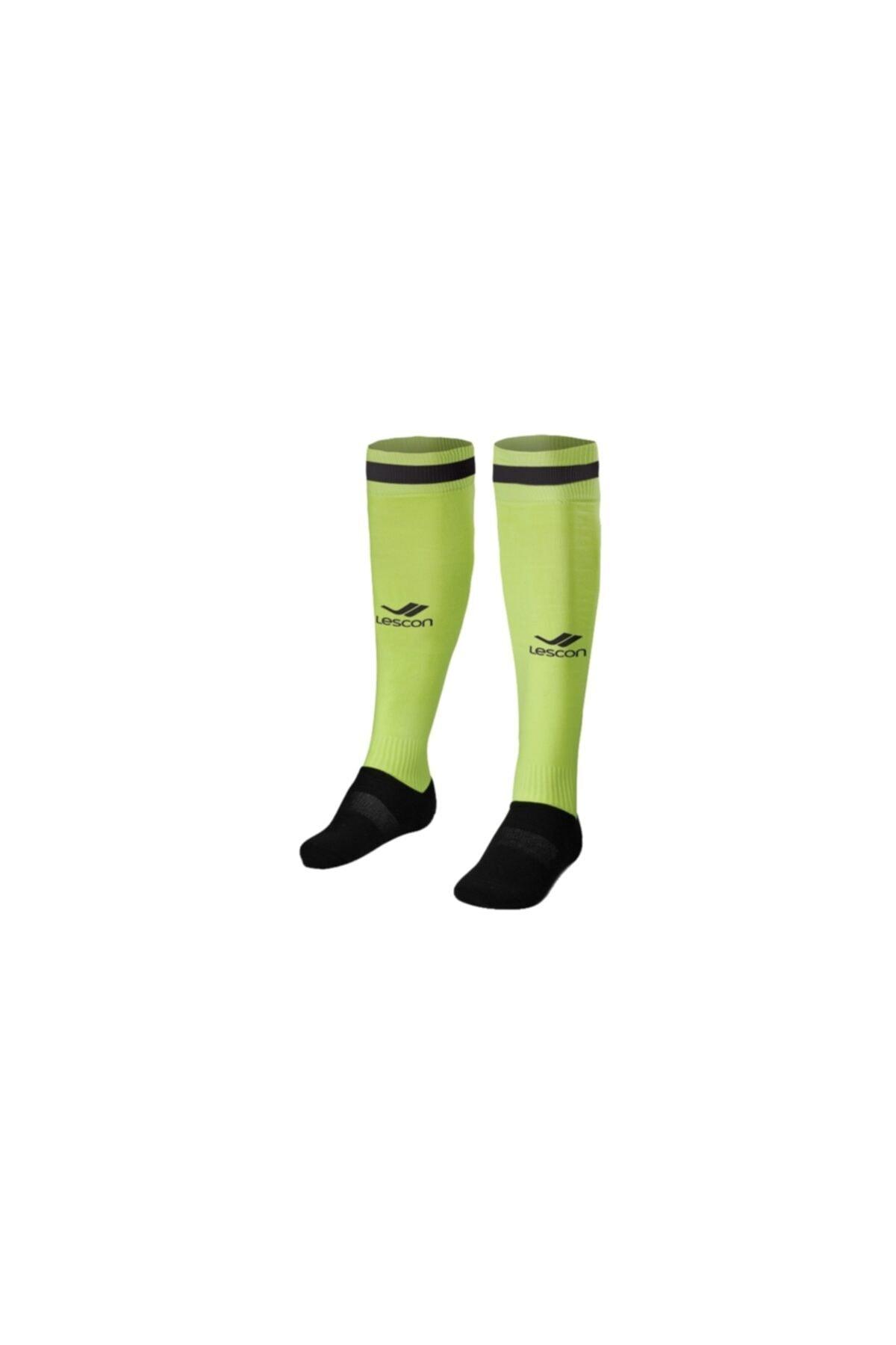 Lescon Unisex Sarı Çorap - 14YKE00L2172 1