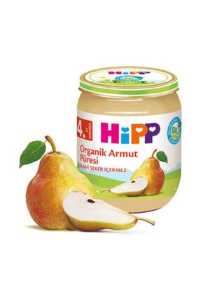 Hipp Unisex Bebek Organik Armut Püresi 125 gr