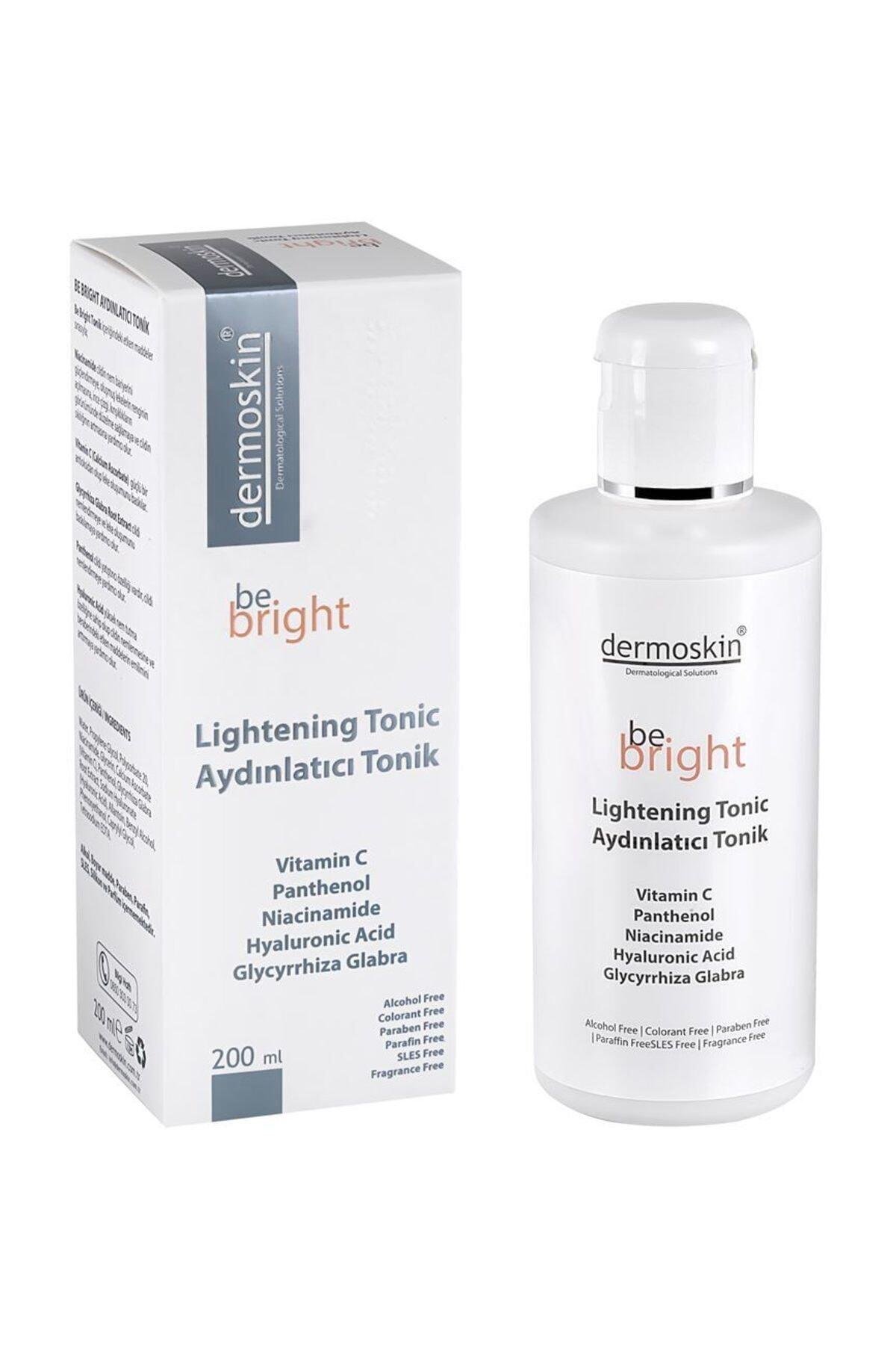 Dermoskin Be Bright Leke Giderici Aydınlatıcı Tonik 200 ml 1