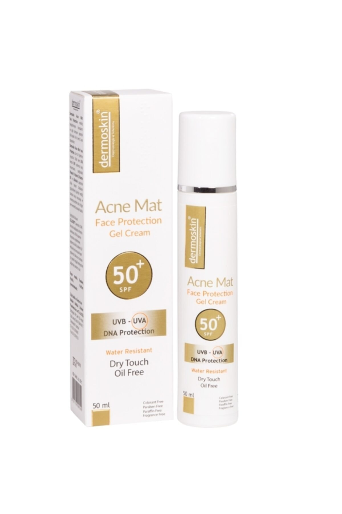 Dermoskin Acne Mat Face Protection Jel Spf 50 50 Ml 1