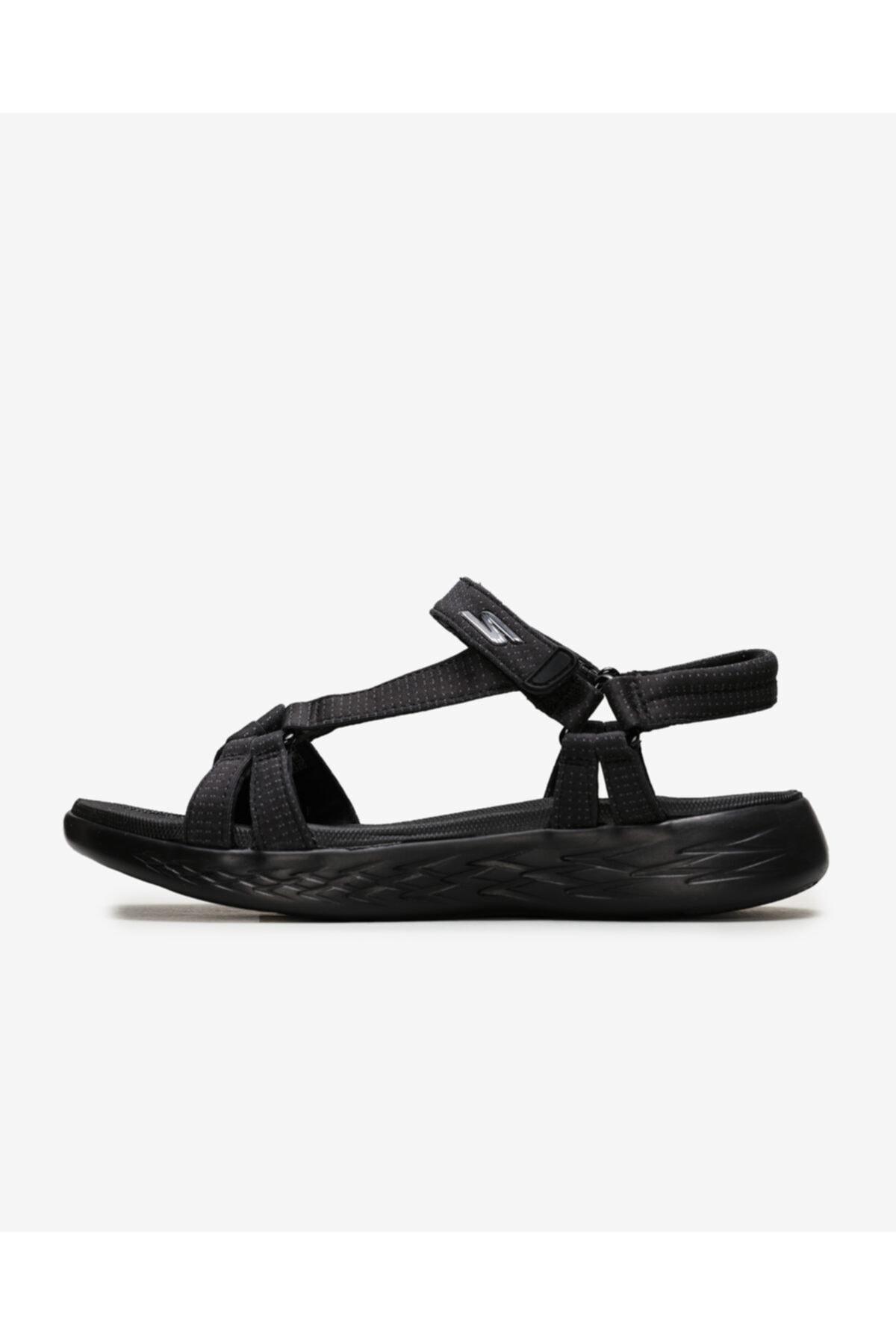 SKECHERS On-the-go 600 - Brilliancy Kadın Siyah Sandalet 15316 Bbk 1