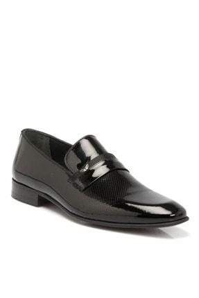 Tergan Siyah Deri Erkek Ayakkabı 54285a07