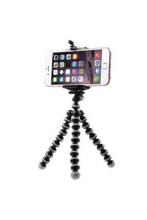 jetfast Ahtapot Esnek Tripod Selfie Masa Üstü Akrobat Stand Tripot 17cm